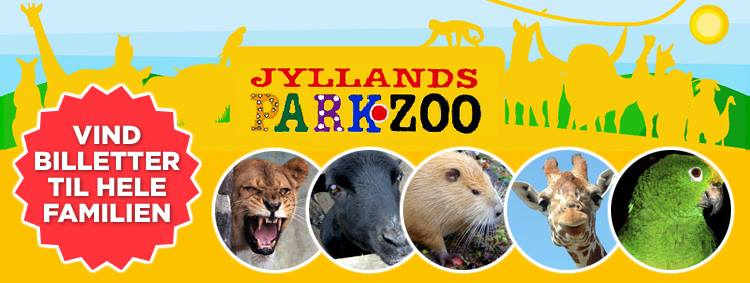 Jylland Park Zoo rabat massage odder